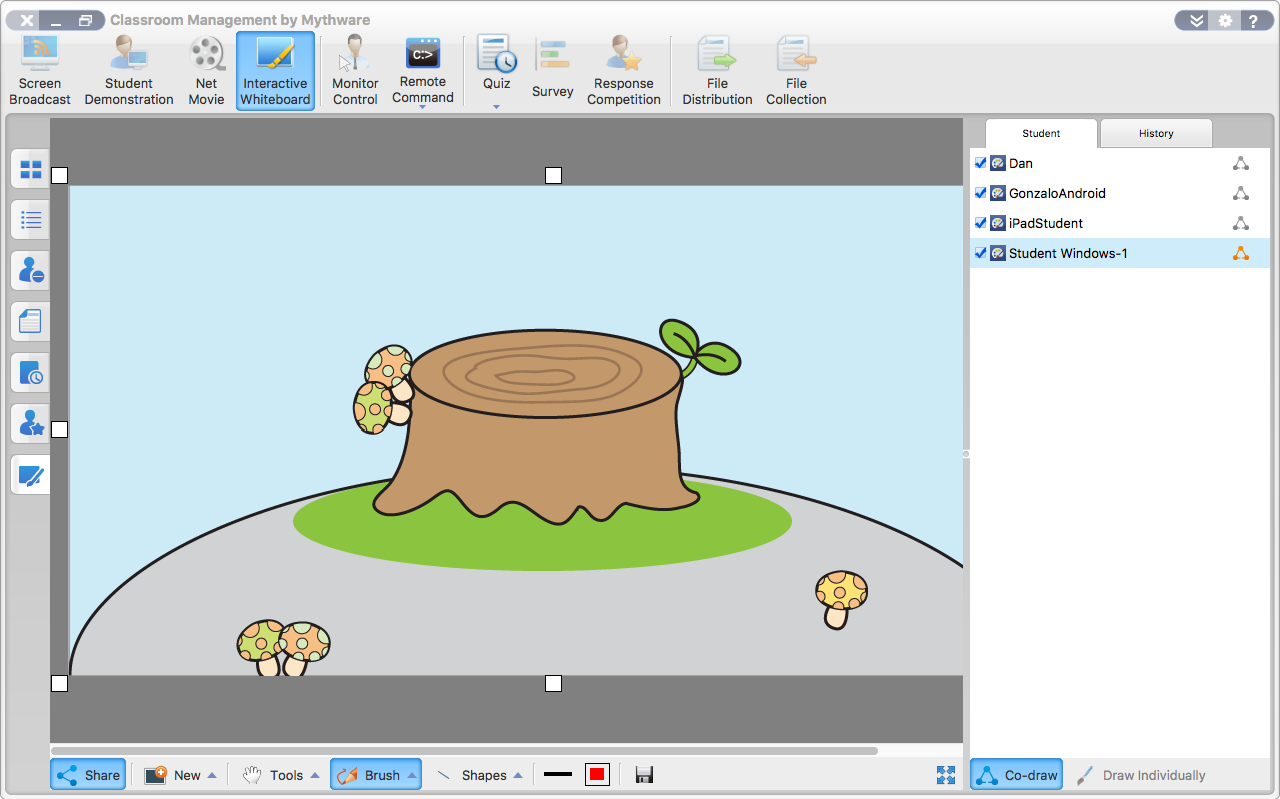 interactive-whiteboard-co-draw-macosx-teacher
